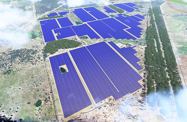 Sojitz and ENEOS report start of construction on Australian solar farm