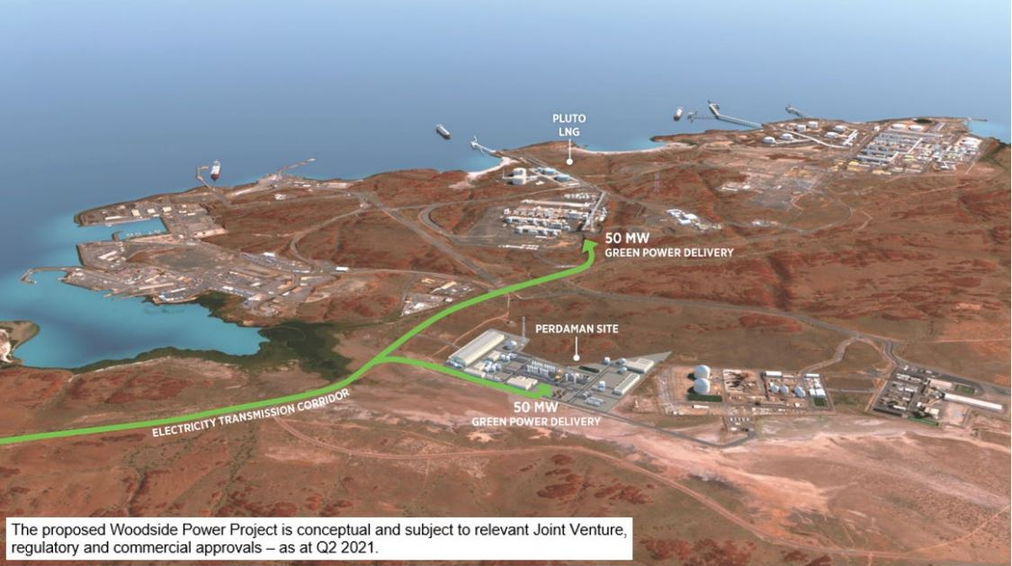 Woodside to bring large-scale solar to the Burrup