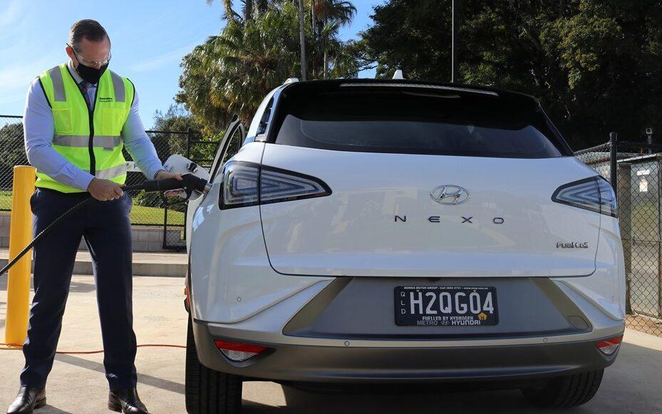 Hydrogen-powered vehicles join Queensland Government fleet